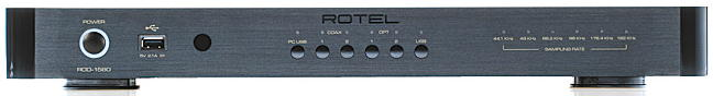 rotel rdd1580 black front
