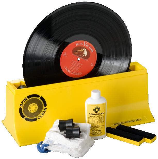 spin clean record cleaning kit