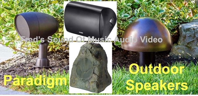 paradigm outdoor speakers